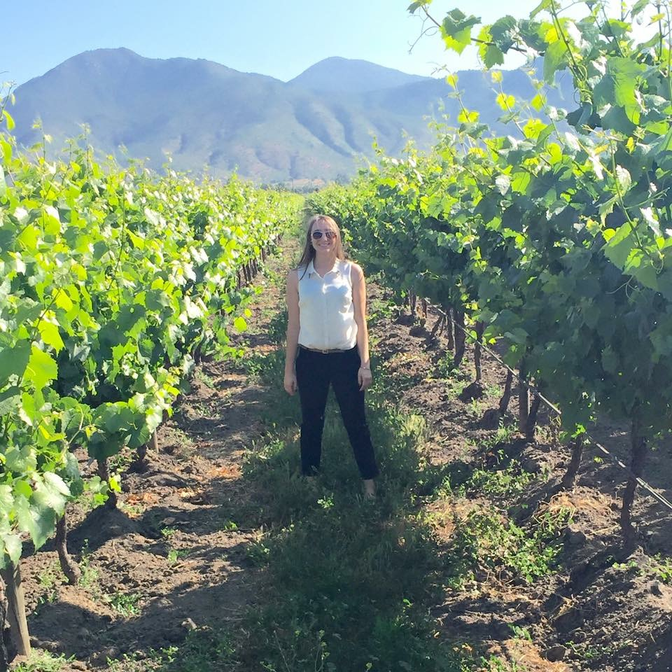 Erika and Vineyard