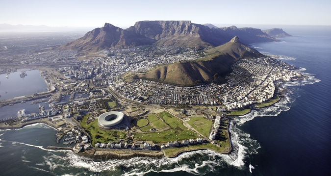 Capetown from Above