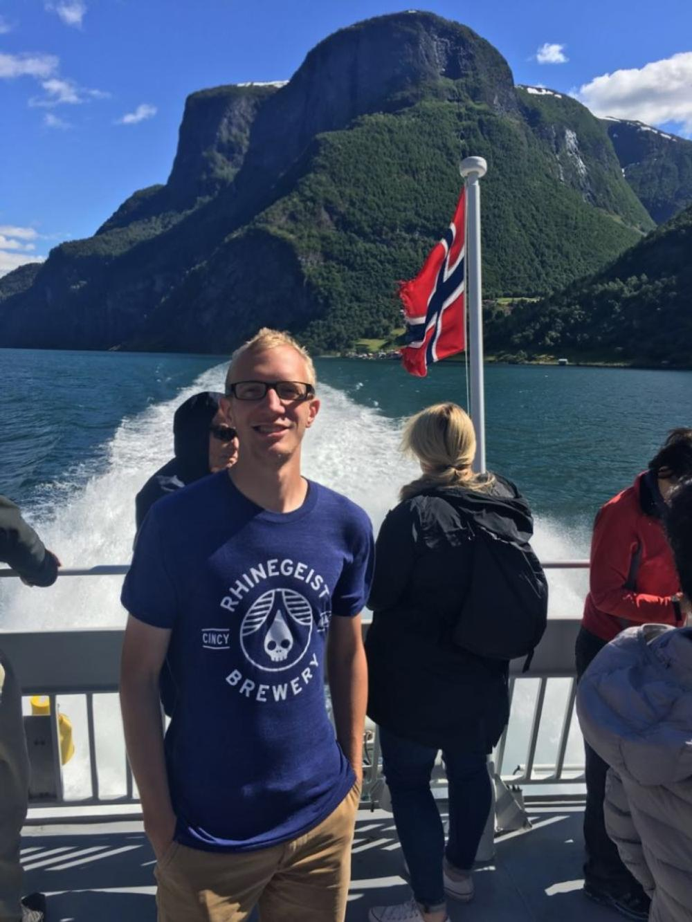 Visiting the Fjords in Norway