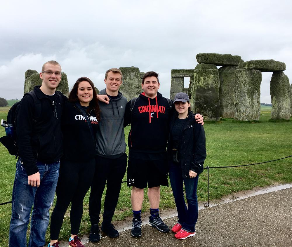 Group at Stonehenge