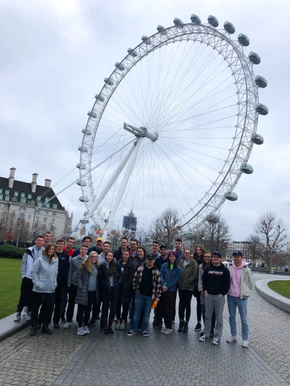 LCB London group ferris wheel